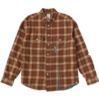 ヴィスヴィム(VISVIM)のvisvim LUMBER CHECK L/S CRASH 2 20-21FW(シャツ)