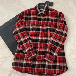 Saint Laurent - サンローラン☆赤チェックシャツ