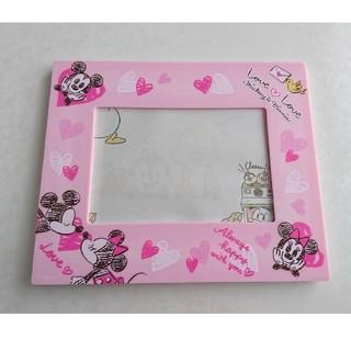 Disney - Disney  ミッキー&ミニー 写真立て  ピンク