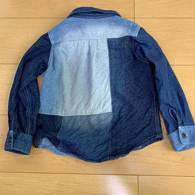BREEZE(ブリーズ)のBREEZE デニムシャツ 110 キッズ/ベビー/マタニティのキッズ服男の子用(90cm~)(Tシャツ/カットソー)の商品写真