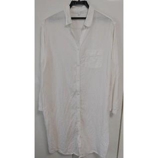 ムジルシリョウヒン(MUJI (無印良品))の無印良品 リネンシャツ ホームウェア Mサイズ(ルームウェア)