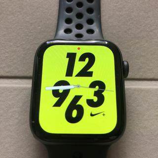 アップルウォッチ(Apple Watch)のApple Watch series4 NIKE+ ブラック(腕時計(デジタル))