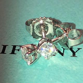 Tiffany & Co. - ティファニー ダイヤモンド ソリティア ピアス プラチナ