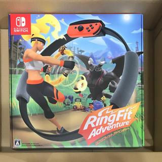 Nintendo Switch - 新品未開封 リングフィットアドベンチャー Nintendo Switch 任天堂