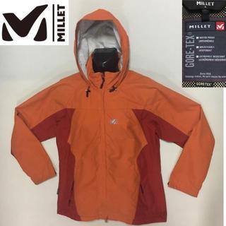 MILLET - ミレー ◇ナイロン ジャケット ゴアテックス◇オレンジ  Lサイズ