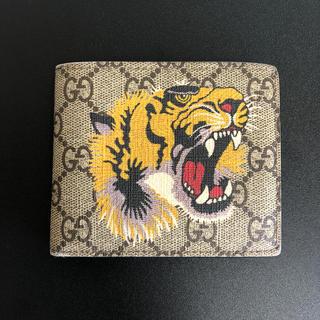Gucci -  GUCCI  二つ折り財布 ベンガル 虎 タイガー 本物 安値 値下げ相談ok