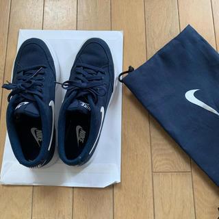 NIKE - Nike スニーカー  24㎝  ネイビー