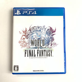 PlayStation4 - ★即日発送★ ワールド オブ ファイナルファンタジー PS4