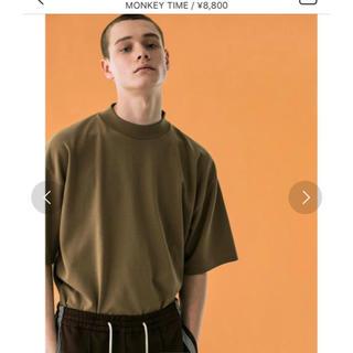 BEAUTY&YOUTH UNITED ARROWS - monkeytime MILANO RIB MOCK TEE/ニットTシャツ