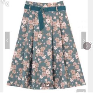 ダズリン(dazzlin)のオーガストガーデンスカート惜しいのですがここまで下げます!(ロングスカート)