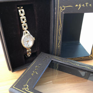 アガット(agete)のagete 腕時計 ANA機内販売限定 希少品!(腕時計)