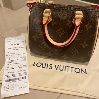 LOUIS VUITTON - LOUISVUITTON ナノスピーディ ハンドバッグ ショルダーバッグ