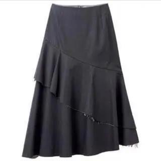 ルシェルブルー(LE CIEL BLEU)のルシェルブルー LE CIEL BLEU ペプラムスカート(ひざ丈スカート)