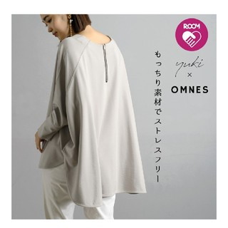 IENA SLOBE - 【yuki×HAPTIC】OMNES ポンチバックファスナープルオーバー