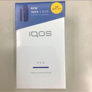 IQOS - 新品未使用 IQOS3 DUO ブルー アイコス