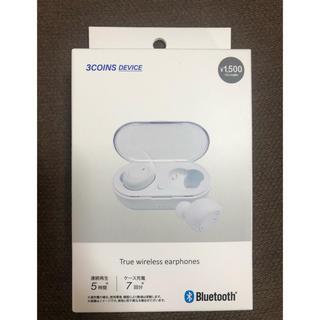 スリーコインズ(3COINS)のスリーコインズ Bluetoothワイヤレスイヤホン(ヘッドフォン/イヤフォン)