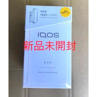 IQOS - 新品未開封 IQOS3 DUO ホワイト アイコス