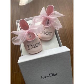 ベビーディオール(baby Dior)のベビー ファーストシューズ(スニーカー)