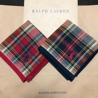 Ralph Lauren - Ralph Lauren ラルフローレン ハンカチ 2枚