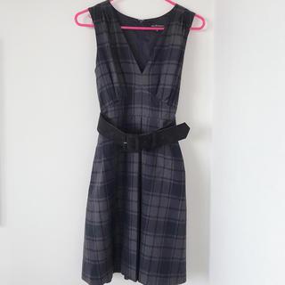 ジルスチュアート(JILLSTUART)のジルスチュアート♡チェックジャンパースカート(ひざ丈ワンピース)