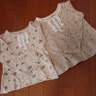 ビケット(Biquette)のBiquette 90 花柄 カットソー(Tシャツ/カットソー)