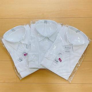 イオン(AEON)の婦人形状安定ブラウス11R 3枚セット【新品未使用】(シャツ/ブラウス(長袖/七分))