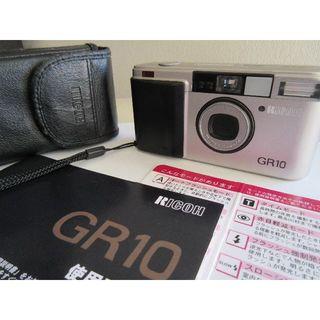 RICOH - 希少 RICOH リコー GR10 フィルムカメラ コンパクトカメラ