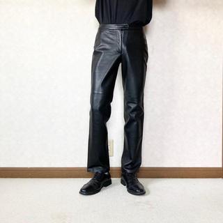 JOHN LAWRENCE SULLIVAN - leather trousers