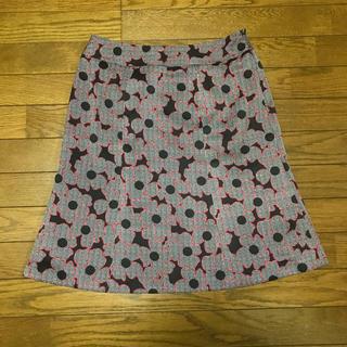 タルボット(TALBOTS)の花柄スカート (ひざ丈スカート)