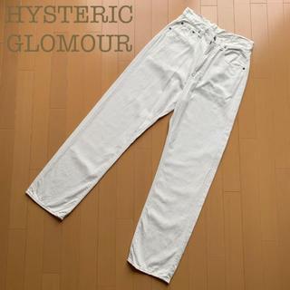 HYSTERIC GLAMOUR - HYSTERIC GLOMOUR カラーデニムパンツ ジーンズ ホワイト 白