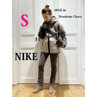 L'Appartement DEUXIEME CLASSE - 今期最新作 ナイキ NIKE ボアフリース×ナイロン切替キルティングパーカーS