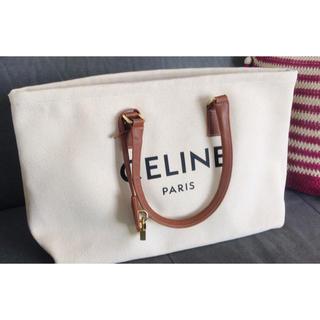 celine - CELINE(セリーヌ) キャンバス ロゴプリント トートバッグ