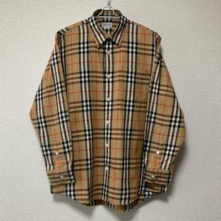 BURBERRY - BURBERRY チェックシャツ 美品