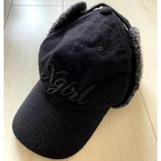X-girl - X-girl エックスガール ボンバーキャップ フライトキャップ 帽子