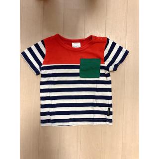 フタフタ(futafuta)のfutafuta ボーダーTシャツ 80cm(Tシャツ)