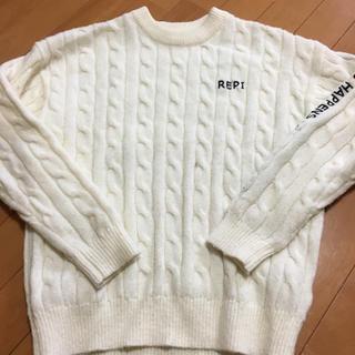 レピピアルマリオ(repipi armario)のレピピ 美品セーター M(ニット)