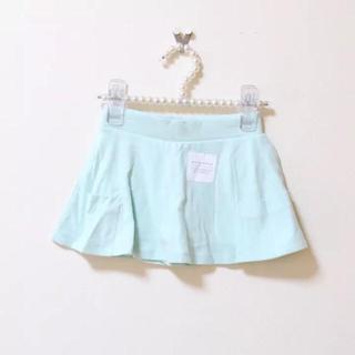 オールドネイビー(Old Navy)のOLDNAVY♡新品♡95♡ポケット付インパンスカート・ミントグリーン(スカート)