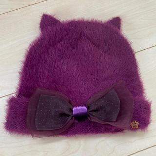 ANNA SUI mini - ANNA SUI mini アナスイミニ 猫耳ニット帽 52〜54