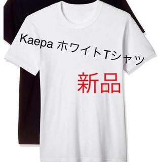 ケイパ(Kaepa)の【新品タグ付き】kaepa ケイパ 半袖クルーネックTシャツ 白 M(Tシャツ/カットソー(半袖/袖なし))