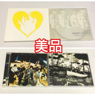 GLAY pure soul  HEAVY GAUGE  ONE LOVE CD