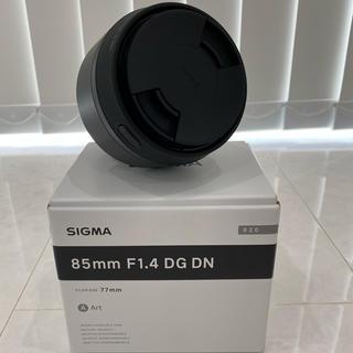 SIGMA - 超美品 シグマ SIGMA 85mm F1.4 DG DN ソニーEマウント