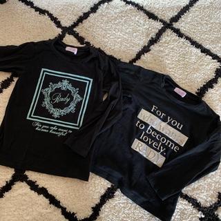 レディー(Rady)のちびradyロンTセットS(105-115)(Tシャツ/カットソー)