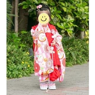 七五三 3歳 女の子(和服/着物)