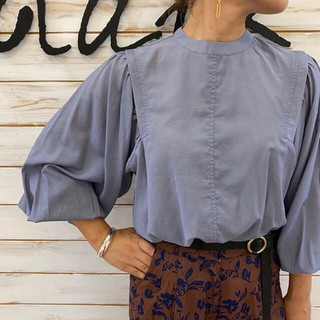 TODAYFUL - TODAYFUL 20AW Gather Sleeve Blouse 3色
