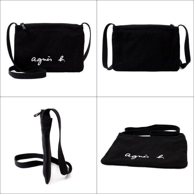 agnes b.(アニエスベー)の新品 アニエスベーサコッシュ ブラック  レディースのバッグ(ショルダーバッグ)の商品写真