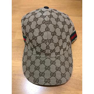 Gucci - GUCCI ベースボール キャップ Lサイズ 美品