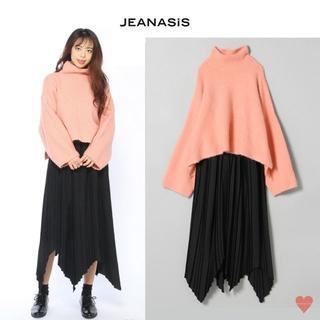 ジーナシス(JEANASIS)のJEANASIS タートルニット&プリーツスカートセットアップ(ロングワンピース/マキシワンピース)