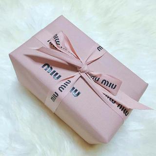 ミュウミュウ(miumiu)のギフト用miumiu twistミュウミュウツイスト香水100ml新品未使用(香水(女性用))