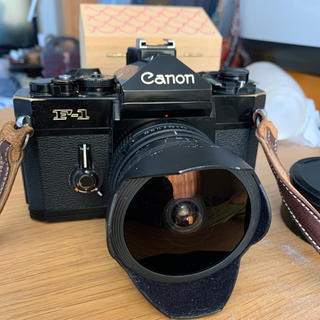 Canon F-1n フィッシュアイ15㎜f2.8