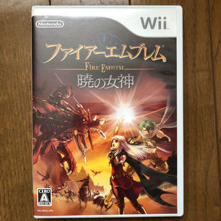 Wii - ファイアーエムブレム 暁の女神 Wii